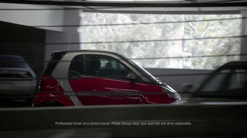 2013 Smart Electric Car TV Spot, 'Parking Garage' - Thumbnail 4