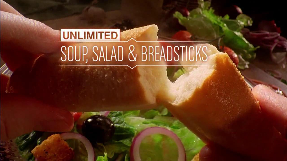 Olive Garden Unlimited Salad And Breadsticks Tv