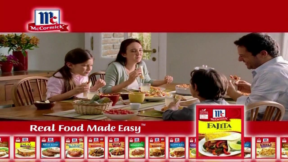 McCormick Fajita Mix TV Spot - Screenshot 9