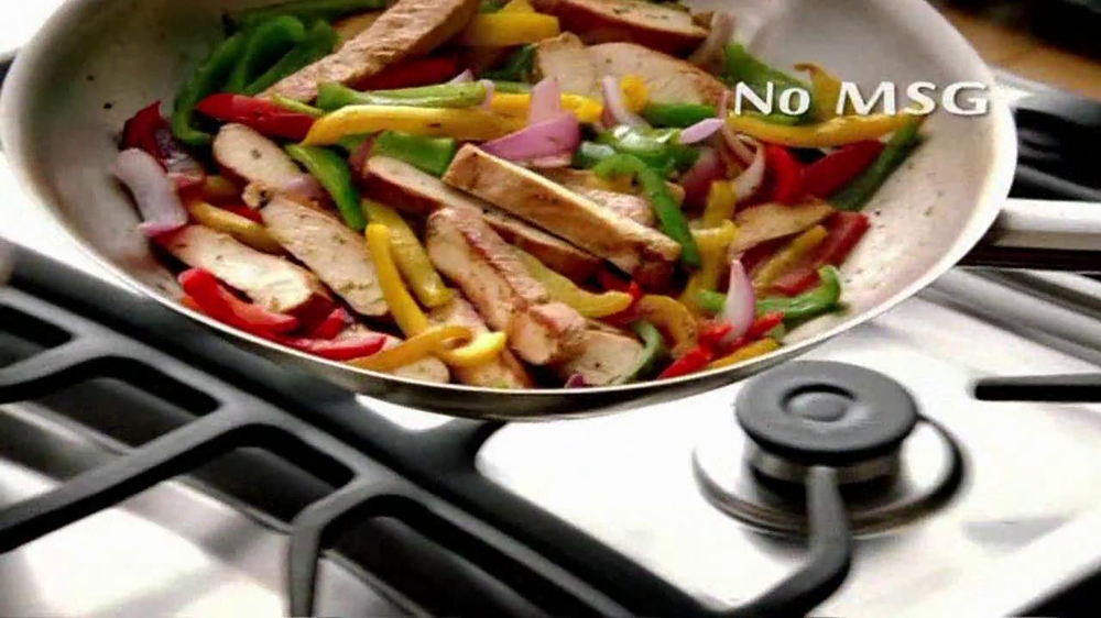 McCormick Fajita Mix TV Spot - Screenshot 6