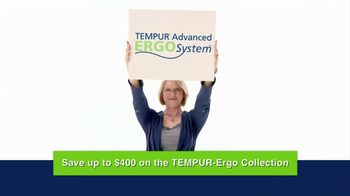 Tempur-Pedic Ergo Collection TV Spot