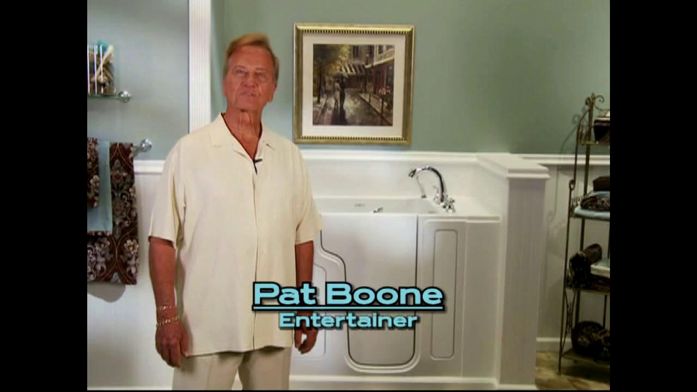 Safe Step TV Spot featuring Pat Boone - Screenshot 1
