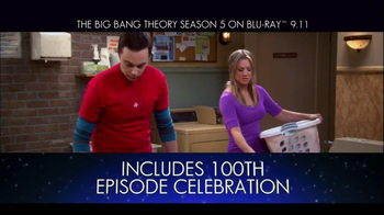The Big Bang Theory Season 5 on Blu-Ray TV Spot