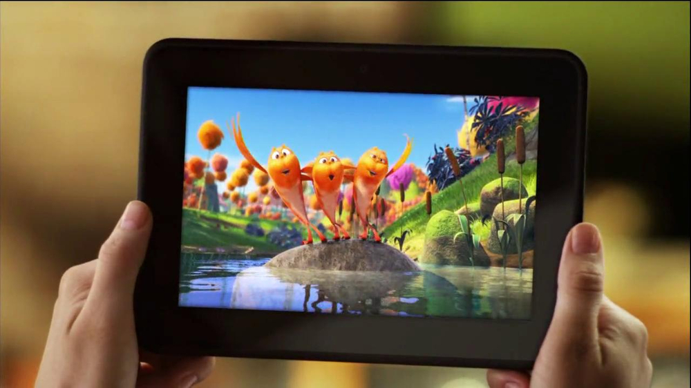 Amazon Kindle Fire HD TV Spot - Screenshot 6