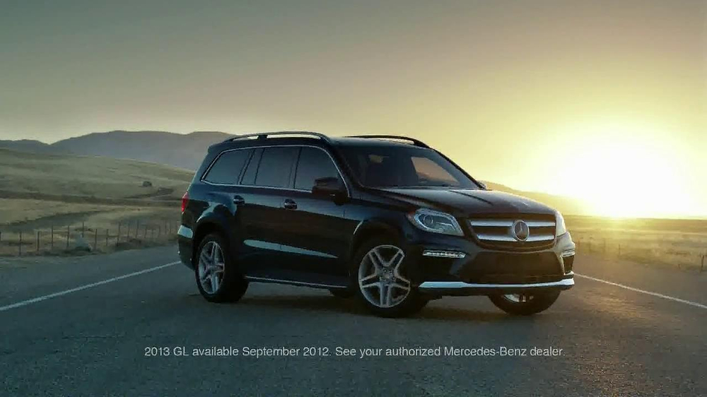 2013 mercedes benz gl tv commercial 39 are we there yet. Black Bedroom Furniture Sets. Home Design Ideas