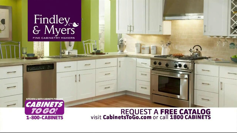 Cabinets to go tv commercial for a great deal on cabinets for Kitchen cabinets 0 financing