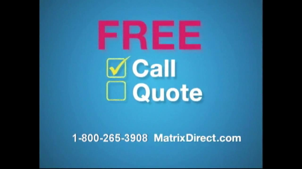 matrix direct tv commercial for 3 out 4 americans. Black Bedroom Furniture Sets. Home Design Ideas