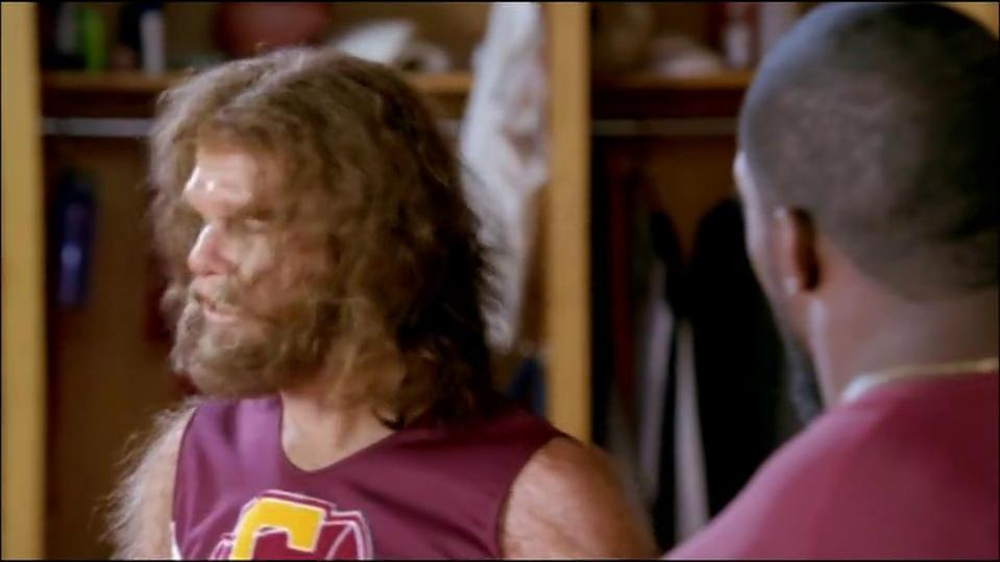 GEICO TV Spot, 'Cheerleader Caveman' Featuring Brian Orakpo - Screenshot 8