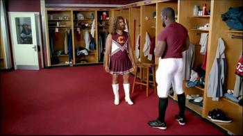 GEICO TV Spot, 'Cheerleader Caveman' Featuring Brian Orakpo - Thumbnail 5