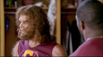 GEICO TV Spot, 'Cheerleader Caveman' Featuring Brian Orakpo - Thumbnail 8