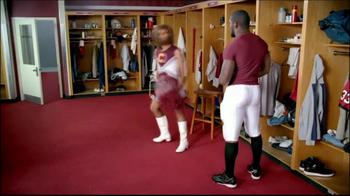 GEICO TV Spot, 'Cheerleader Caveman' Featuring Brian Orakpo - Thumbnail 9