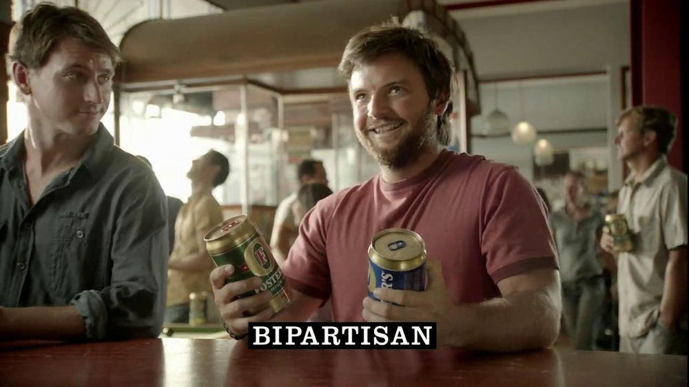 Fosters Beer TV Spot, 'Bipartisan' - Screenshot 7
