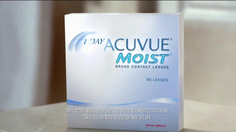 ACUVUE 1-Day Moist Lenses TV Spot  - Screenshot 7