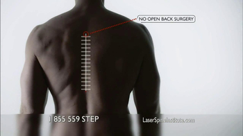 Laser Spine Institute TV Spot for Out-Patient Surgeries