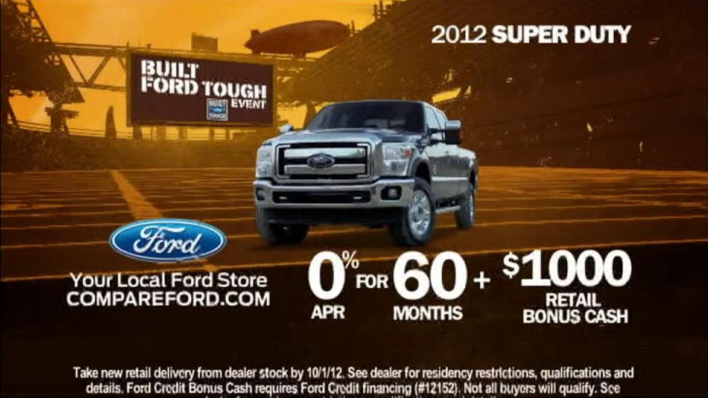"""advertisements built ford tough A false advertising suit against ford motor co was limited after a federal court judge found the company's """"built ford tough"""" claim is non-actionable."""