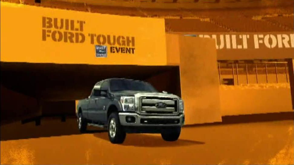 Built Ford Tough Sales Event TV Spot, 'Touchdown ...