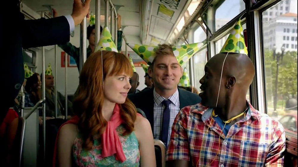 Subway TV Spot, 'SUBprize Party Hats' - Screenshot 6