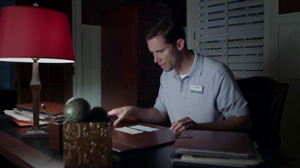 first tech federal credit union tv commercial for non bank location. Black Bedroom Furniture Sets. Home Design Ideas