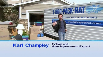 1-800-PACK-RAT TV Spot For Pack Rat Storage Systems