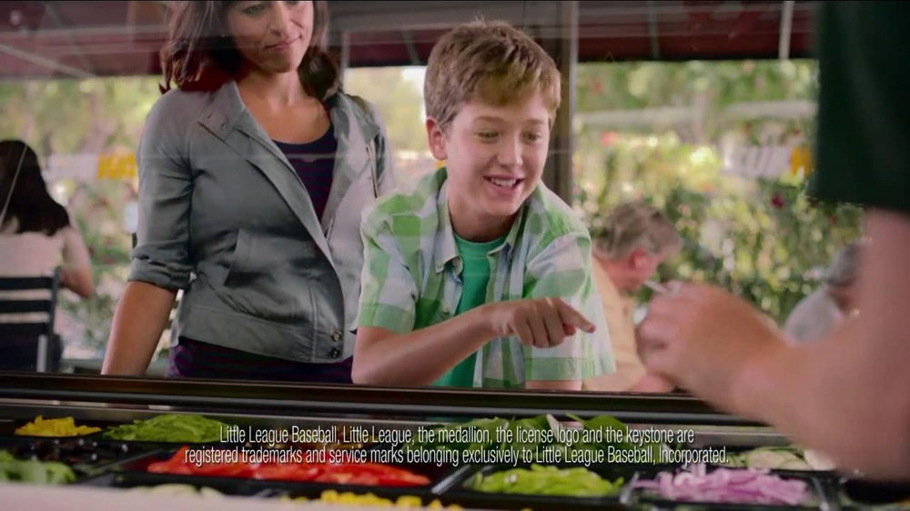 Subway TV Spot for Little League Featuring Ryan Howard - Screenshot 8