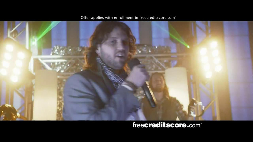 FreeCreditScore.com TV Spot, 'Club Concert' - Screenshot 10