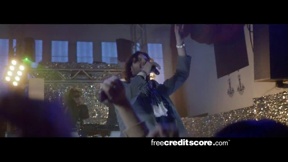 FreeCreditScore.com TV Spot, 'Club Concert' - Screenshot 6