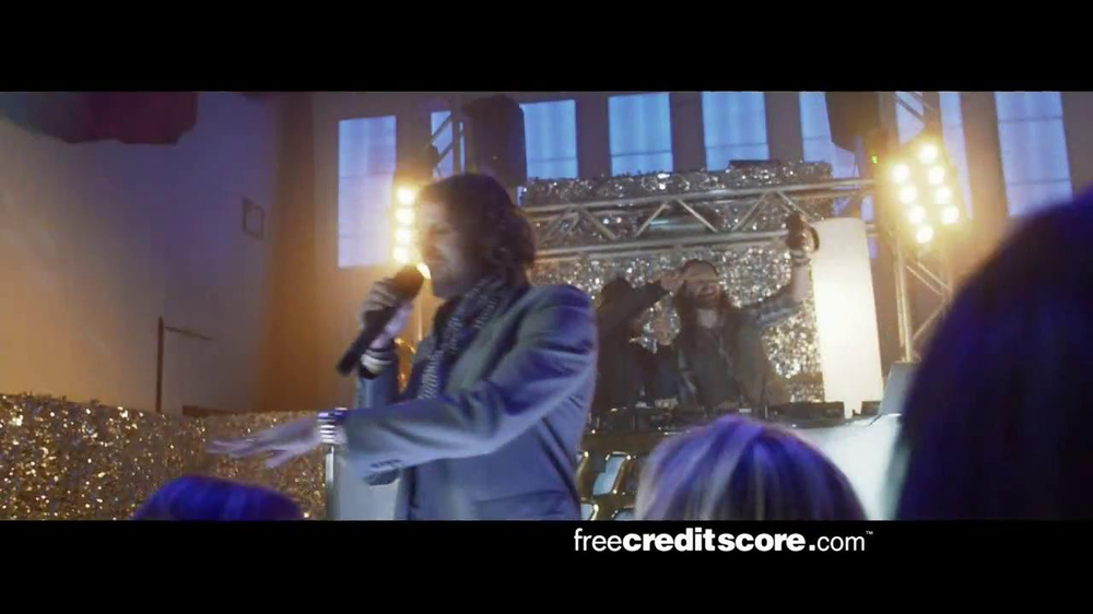 FreeCreditScore.com TV Spot, 'Club Concert' - Screenshot 7