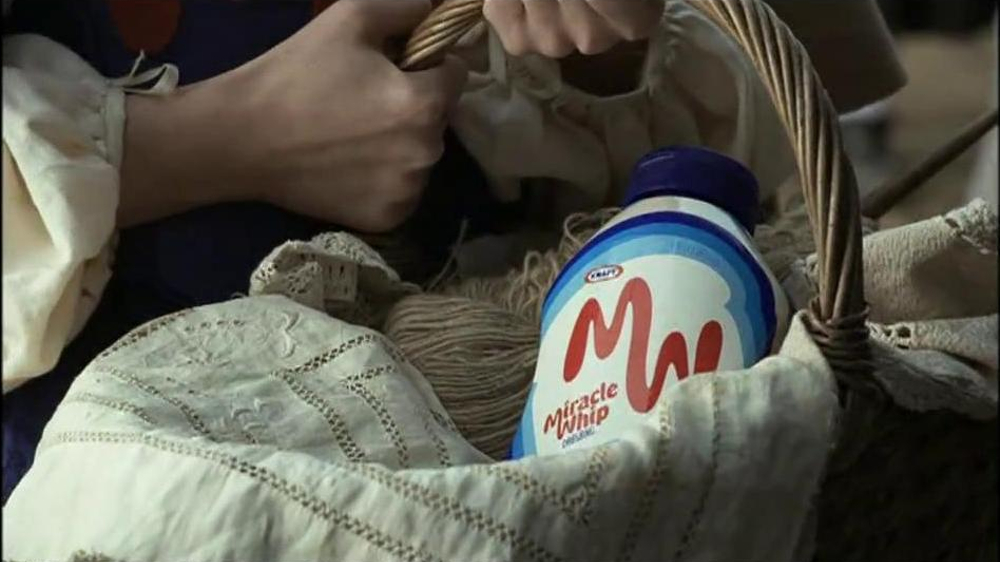 Miracle Whip TV Spot, 'Scarlet Markings' - Screenshot 5