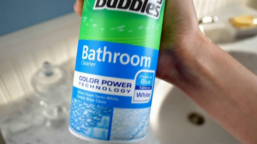 Scrubbing Bubbles Tv Commercial For Color Power Bathroom