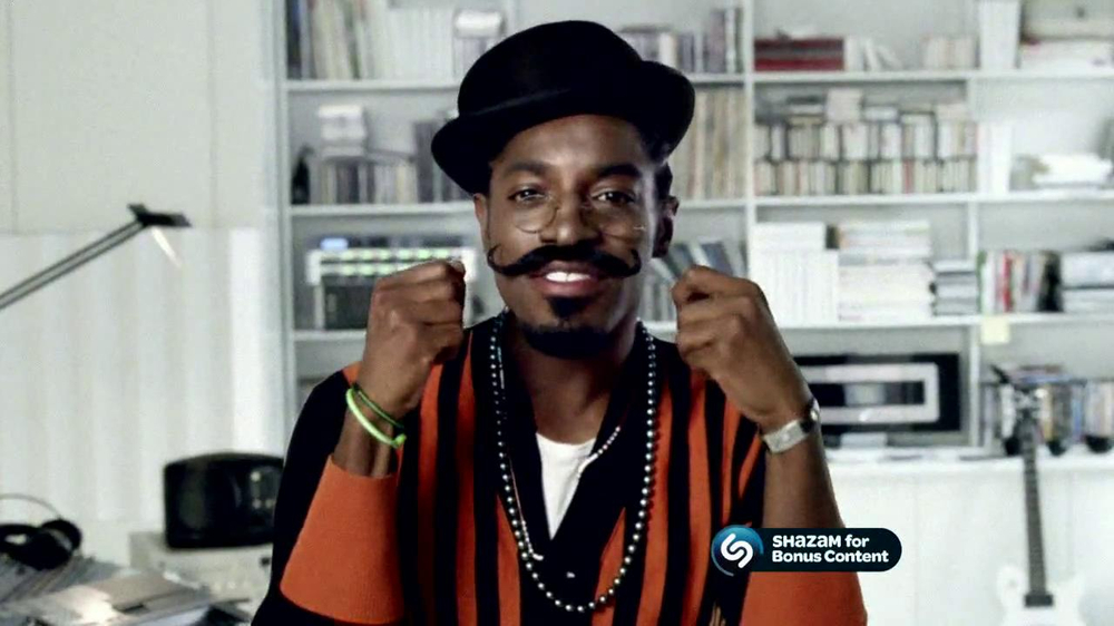 gillette tv commercial for beard style featuring andre 3000. Black Bedroom Furniture Sets. Home Design Ideas