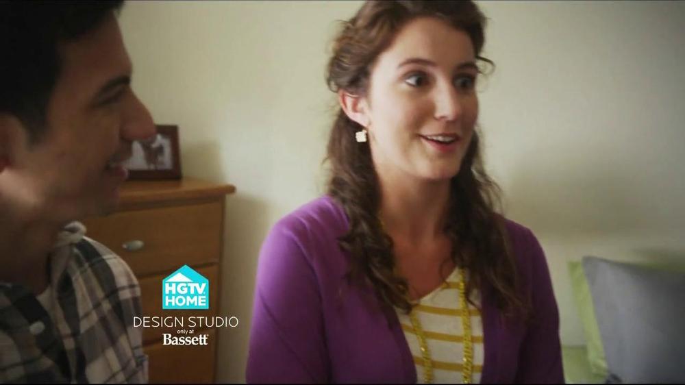 Bassett TV Spot for HGTV Home Design Studio Bedroom - Screenshot 3