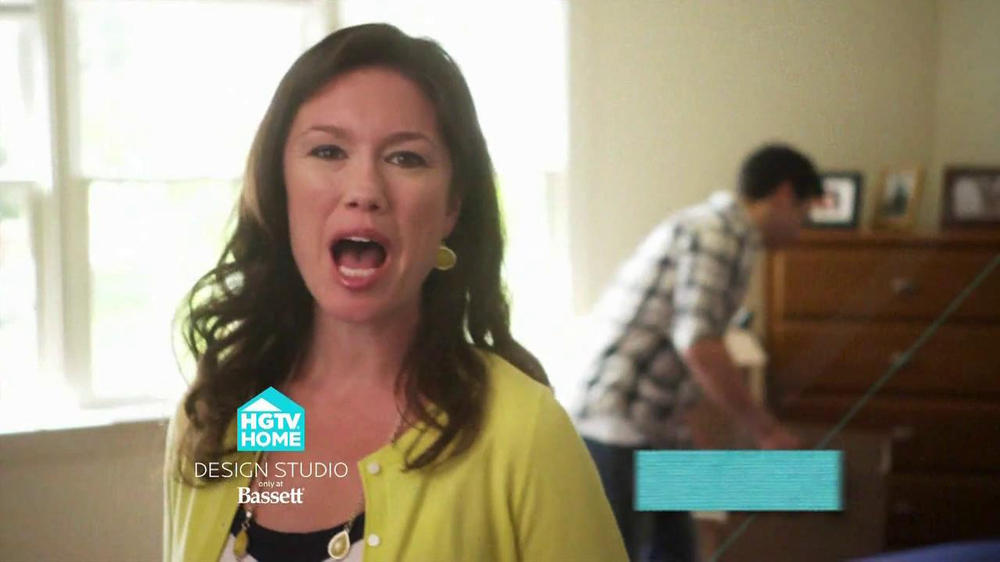 Bassett TV Spot for HGTV Home Design Studio Bedroom - Screenshot 4