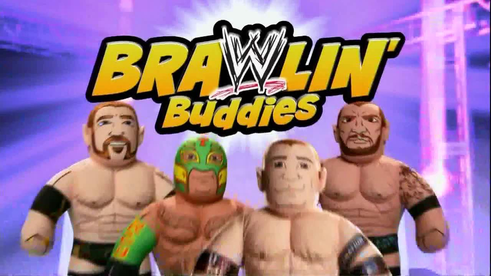 WWE Brawlin' Buddies TV Spot  - Screenshot 1