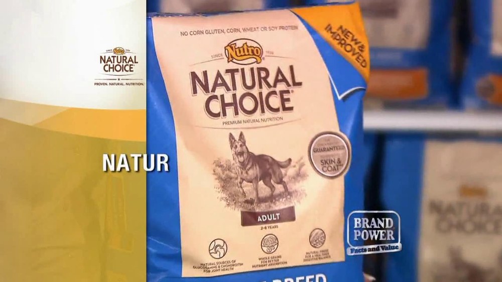 Nutro Natural Choice TV Spot, 'Brand Power' - Screenshot 2