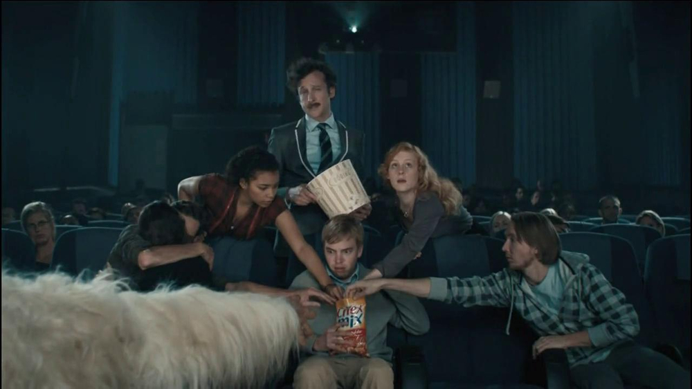 Chex Mix TV Spot, 'Boring Popcorn Decoy Bucket' - Screenshot 3
