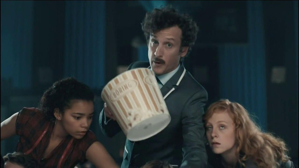 Chex Mix TV Spot, 'Boring Popcorn Decoy Bucket' - Screenshot 4