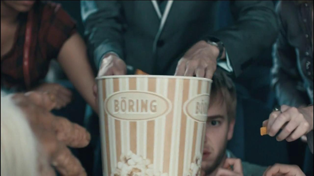 Chex Mix TV Spot, 'Boring Popcorn Decoy Bucket' - Screenshot 5
