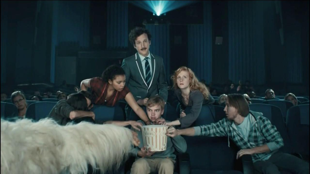 Chex Mix TV Spot, 'Boring Popcorn Decoy Bucket' - Screenshot 6