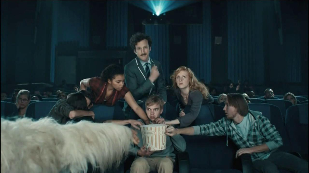 Chex Mix TV Spot, 'Boring Popcorn Decoy Bucket' - Screenshot 7