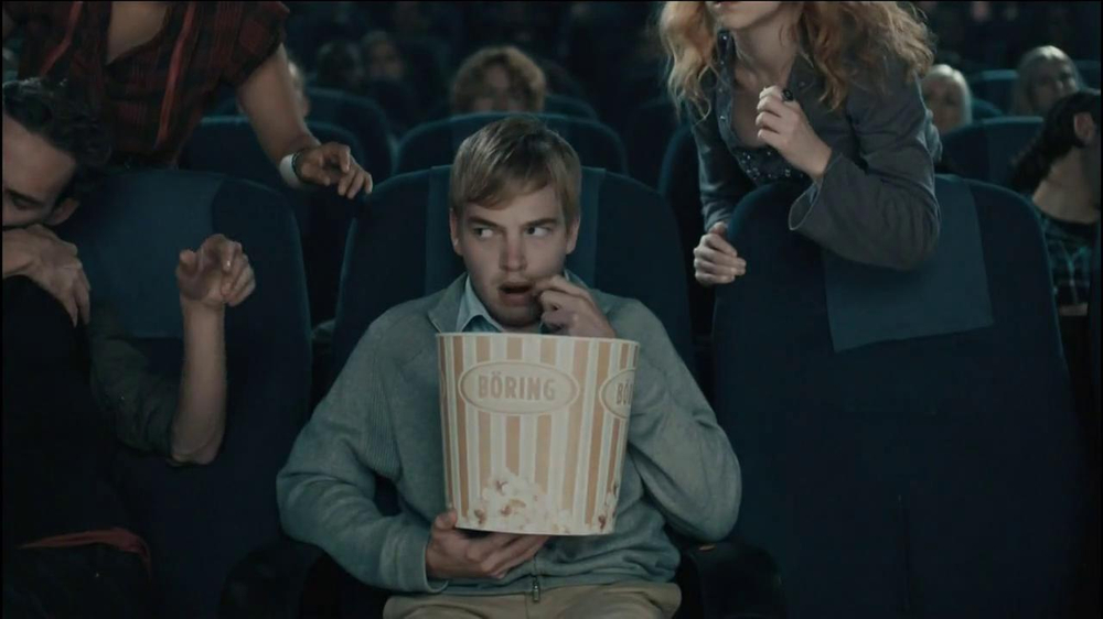 Chex Mix TV Spot, 'Boring Popcorn Decoy Bucket' - Screenshot 8