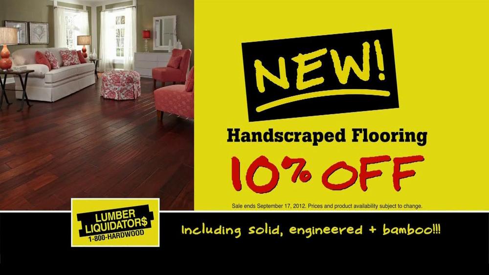 Flooring Sale Flyer : Lumber liquidators new flooring sale tv commercial ispot