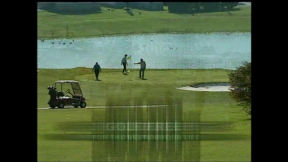 The Villages TV Spot for Golf Free For Life - Screenshot 4