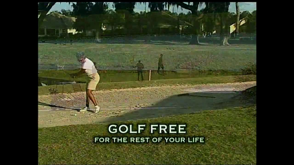 The Villages TV Spot for Golf Free For Life - Screenshot 5