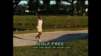 The Villages TV Spot for Golf Free For Life - Thumbnail 6
