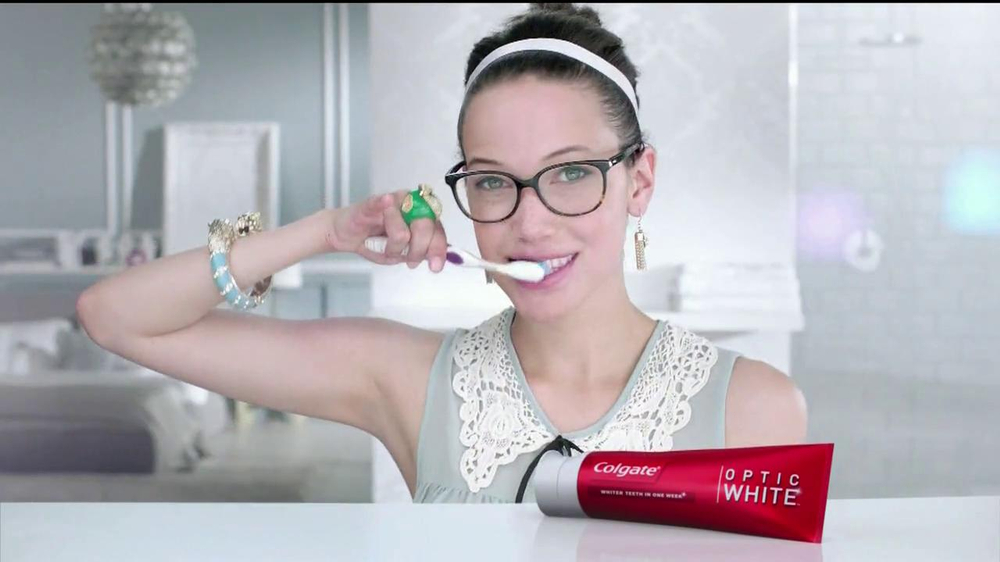 Watch video· About Colgate Total Advanced TV Commercial, 'Are You Totally Ready?' If you're ready for sparks to fly, Colgate Total Advanced toothpaste is recommended. A woman uses the toothpaste designed to fight bacteria for a healthier mouth so she's totally ready to meet Mr.