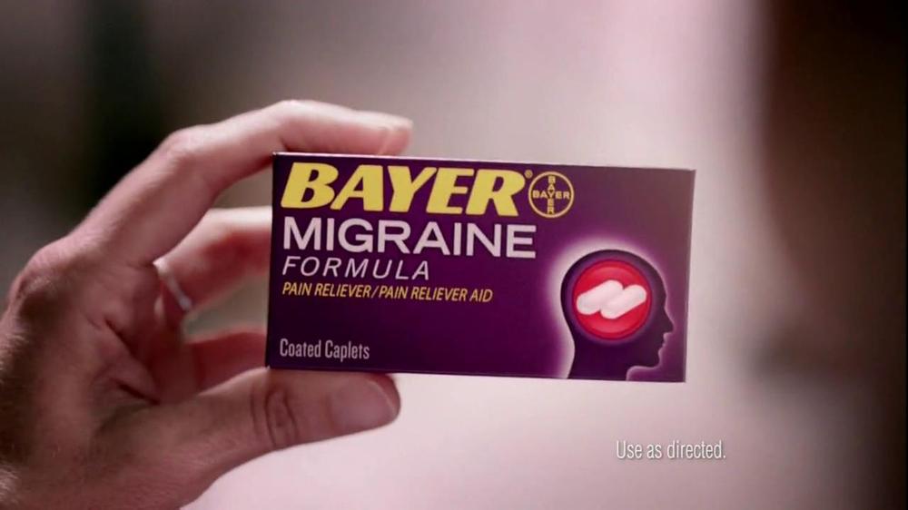 Bayer Migraine Tv Spot Ispot Tv