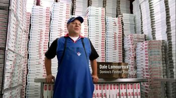 Domino's Pizza TV Spot, 'Fastest Box Folder'