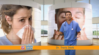 Simply Saline TV Spot, 'Get Congestion Out' Featuring Dr. Travis Stork