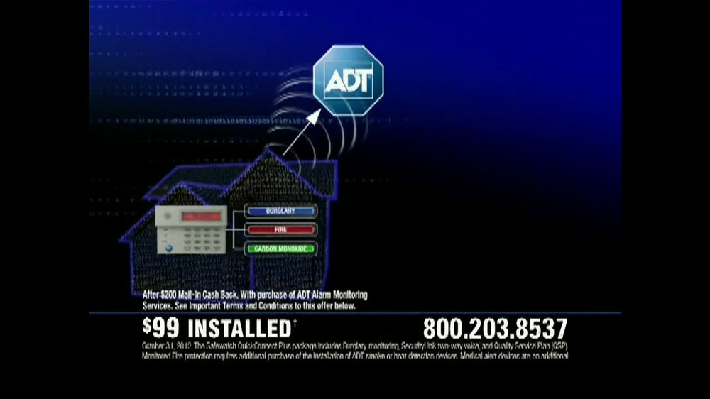 ADT TV Spot for Walking in on a Burglary - Screenshot 7