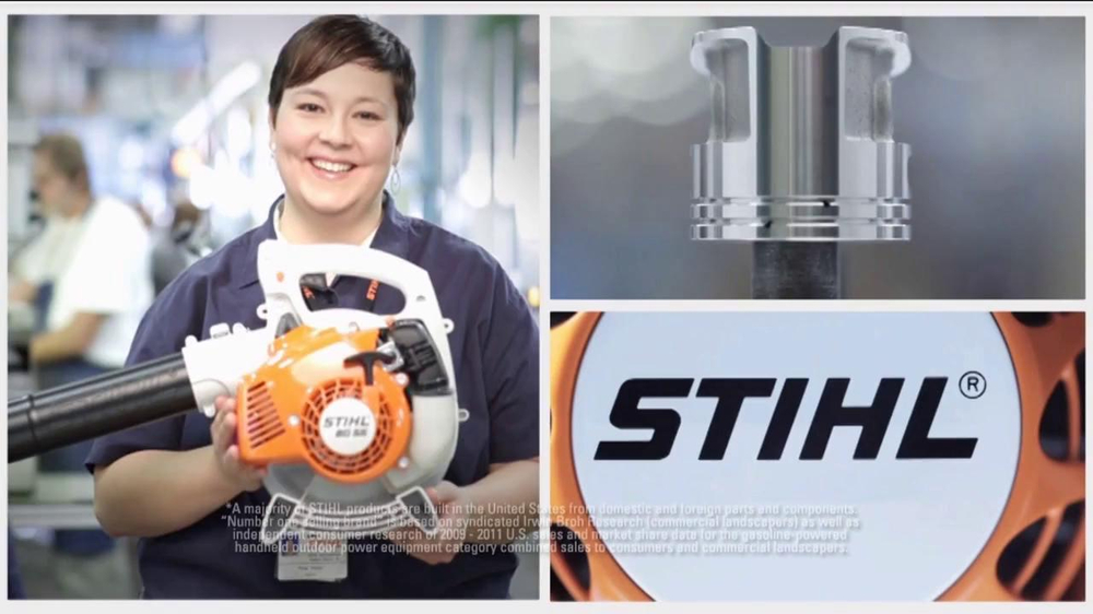 Stihl SH 86 C-E Shredder Vac/Blower TV Spot - Screenshot 1